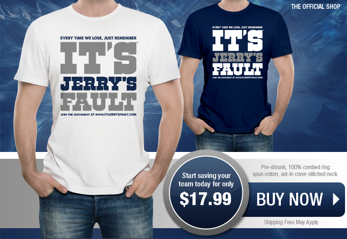 It's Jerry's Fault Homepage Banner